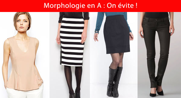 Quels vetements pour morphologie triangle - Tringle a vetement ...