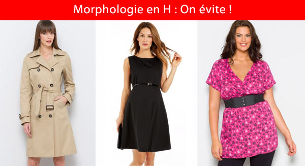 Robes cocktail morphologie h
